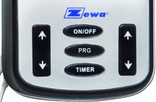Zewa SpaBuddy Sport controls