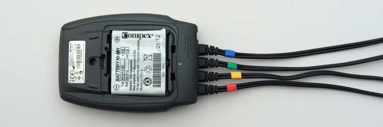 Compex Muscle Stimulator rechargeable battery