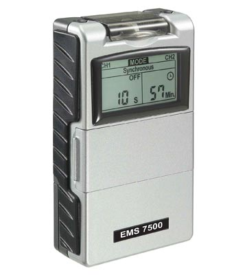 EMS 7500 electric muscle stimulator