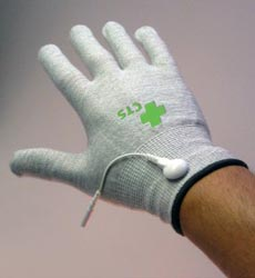 TENS unit accessories – conductive gloves