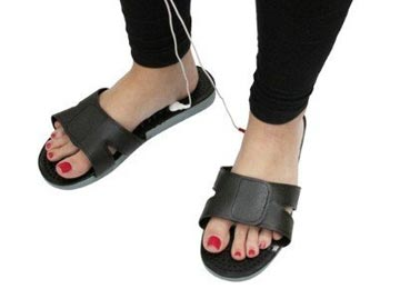 TENS unit accessories – massage shoes