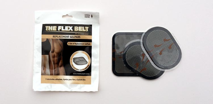 Flex Belt replacement pads