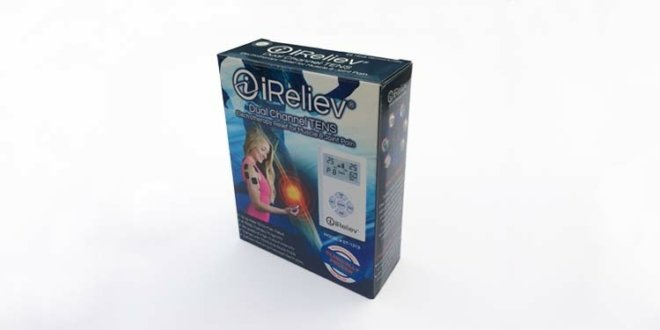 iReliev Dual Channel TENS Pain Relief System review