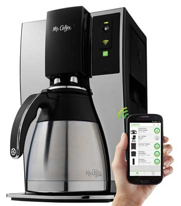 Mr.-Coffee 10 Cup Optimal Brew wi-fi controlled Smart Coffee Maker