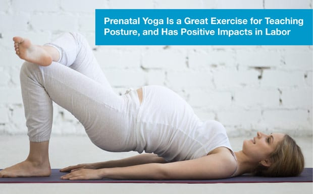 Focus on your posture – prenatal yoga