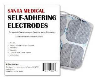 Santamedical Self-Adhering Electrodes