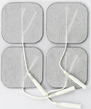 """Syrtenty 2"""" Square TENS Unit Electrodes 2x2"""