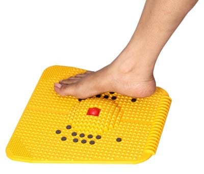 Acupressure Mat with Magnets Pyramids