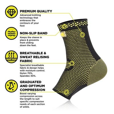 PURE SUPPORT Ankle Brace Sleeves
