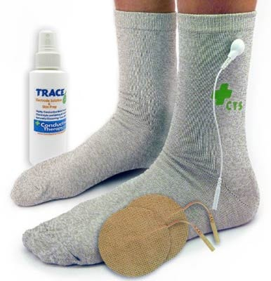 Premium Conductive Socks Pair