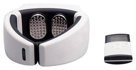 eTTgrar Wireless Portable Digital Neck Therapeutic Electric Massager