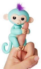Fingerlings Baby Monkey Zoe
