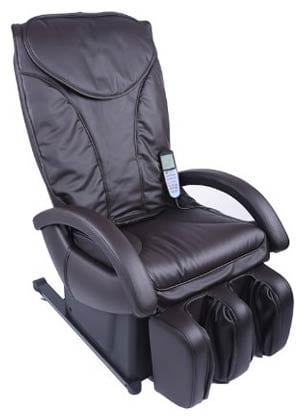 New Full Body Shiatsu Brown Massage Chair Recliner Bed EC-69