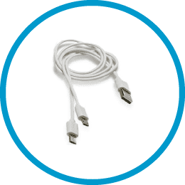 PlayMakar included accessories – Dual USB Charging Cable
