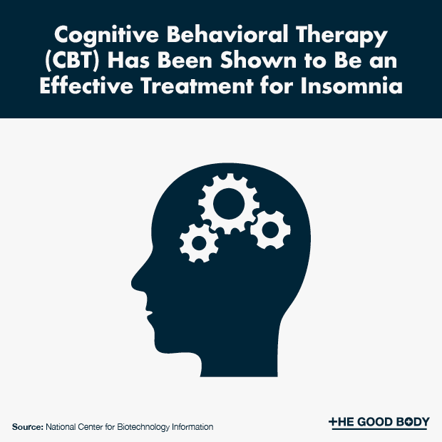 Cognitive Behavioral Therapy Can Be an Effective Treatment for Insomnia