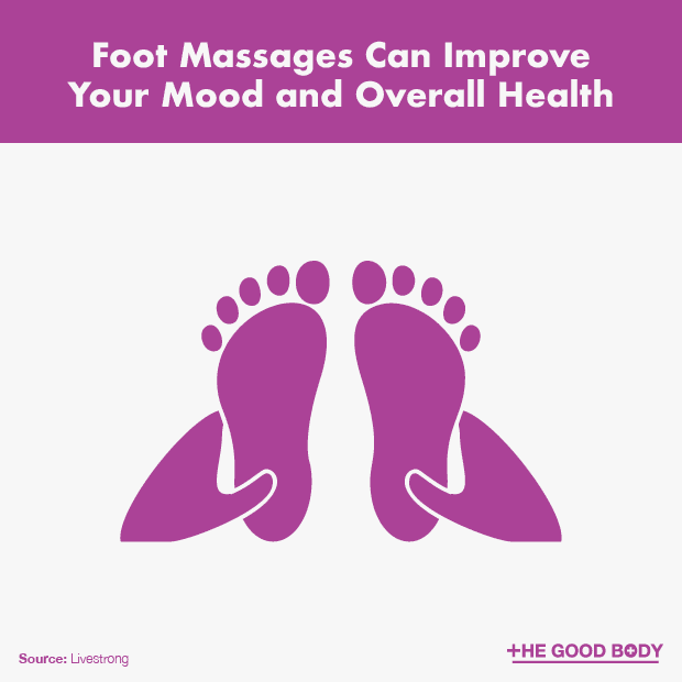 Having a Foot Massage Can Improve Your Mood and Overall Health