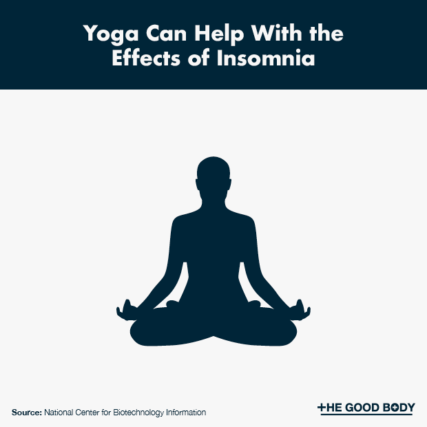 Yoga Can Help With the Effects of Insomnia