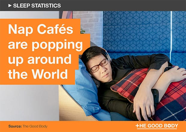 Nap Cafes are popping up around the world
