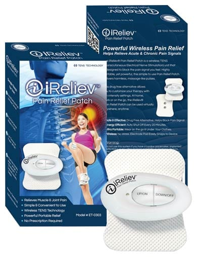 iReliev Free Mini TENS Unit Offer
