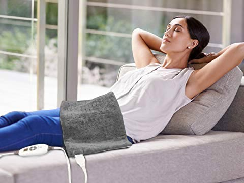 what is the best heating pad for back neck shoulder pain?affordable and large \u2013 pure enrichment purerelief xl king size heating pad