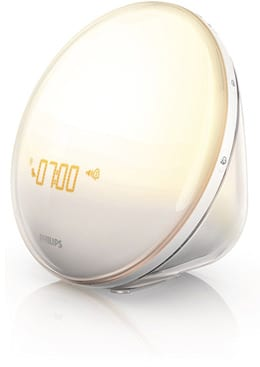 Philips Wake Up Light with Colored Sunrise Simulation