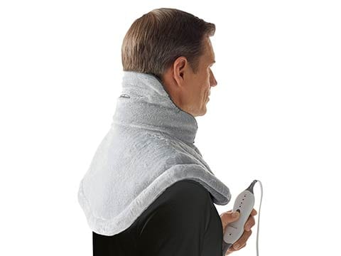 Shaped to fit – Sunbeam Renue Contouring Neck and Shoulder Heating Pad