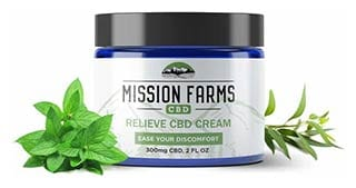Mission Farms Relieve CBD Cream