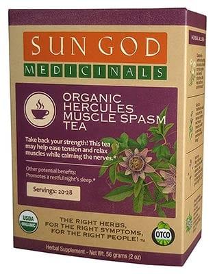 Organic Hercules Muscle Spasm Tea