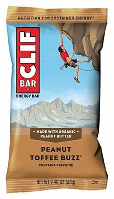 Clif Bar: Peanut Toffee Buzz Energy Bar