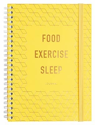 FOOD. EXERCISE. SLEEP. JOURNAL: INSPIRATION by kikki.K