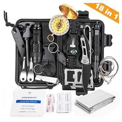 Kosin 18 in 1 Emergency Survival Kit