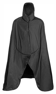 Mambe Extreme Weather 100% Waterproof/Windproof Hooded Blanket with Premium Stuff Sack