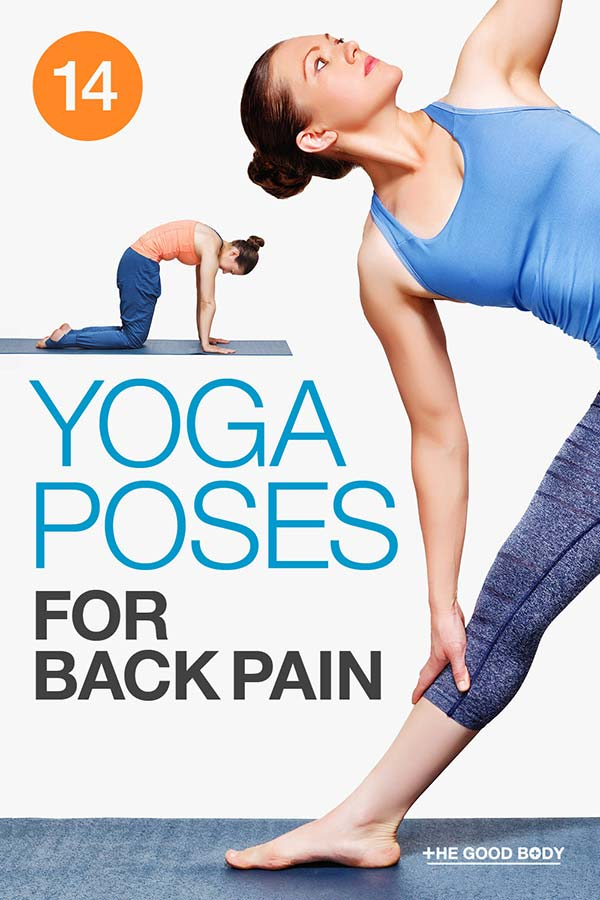 14 Yoga Poses for Back Pain – Pin It