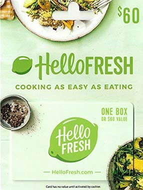 A Subscription to HelloFresh