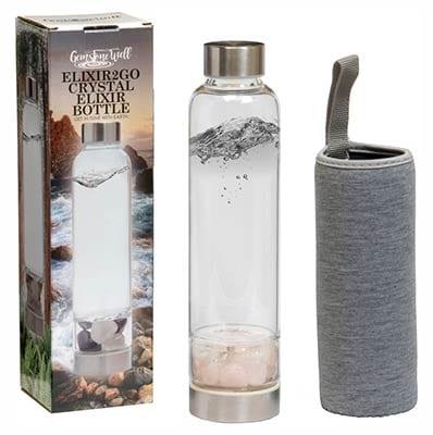 Elixir2Go Crystal Elixir Bottle