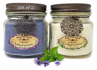 Way Out West Aromatherapy Candles