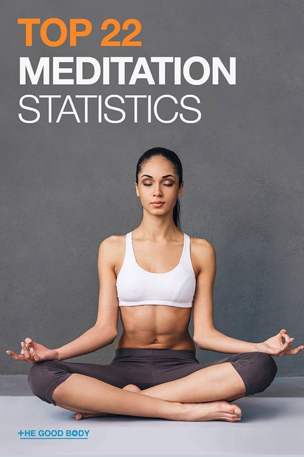 Top 22 Meditation Statistics – Pin It