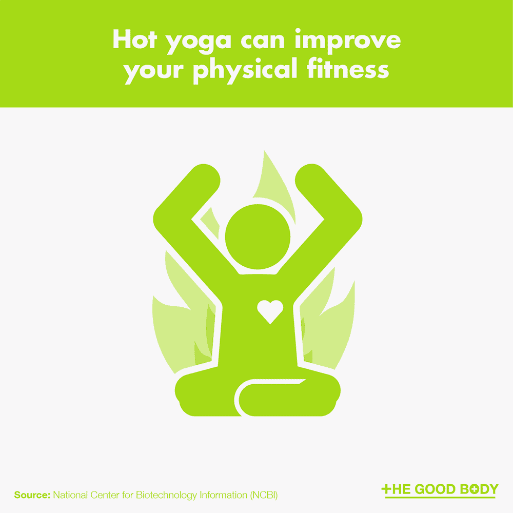 Hot yoga can improve your physical fitness