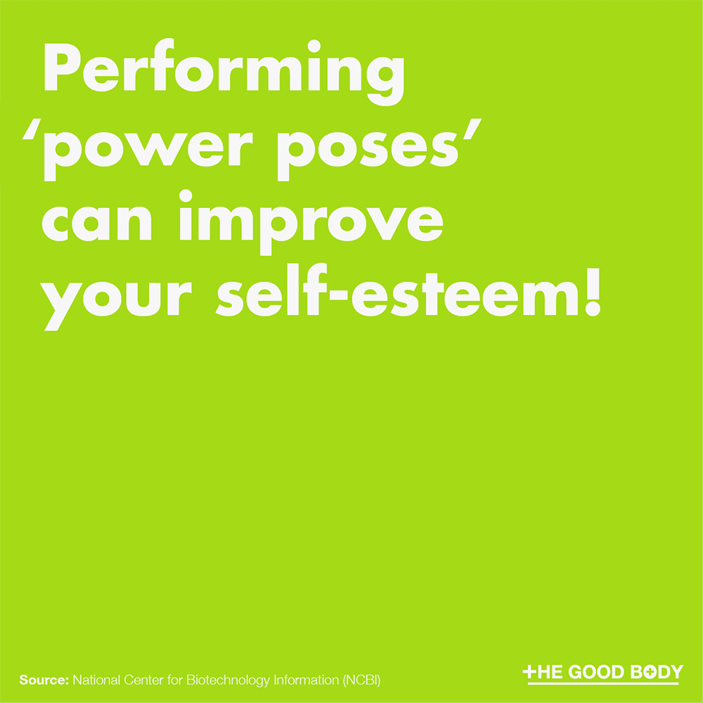 Performing 'power poses' can improve your self-esteem