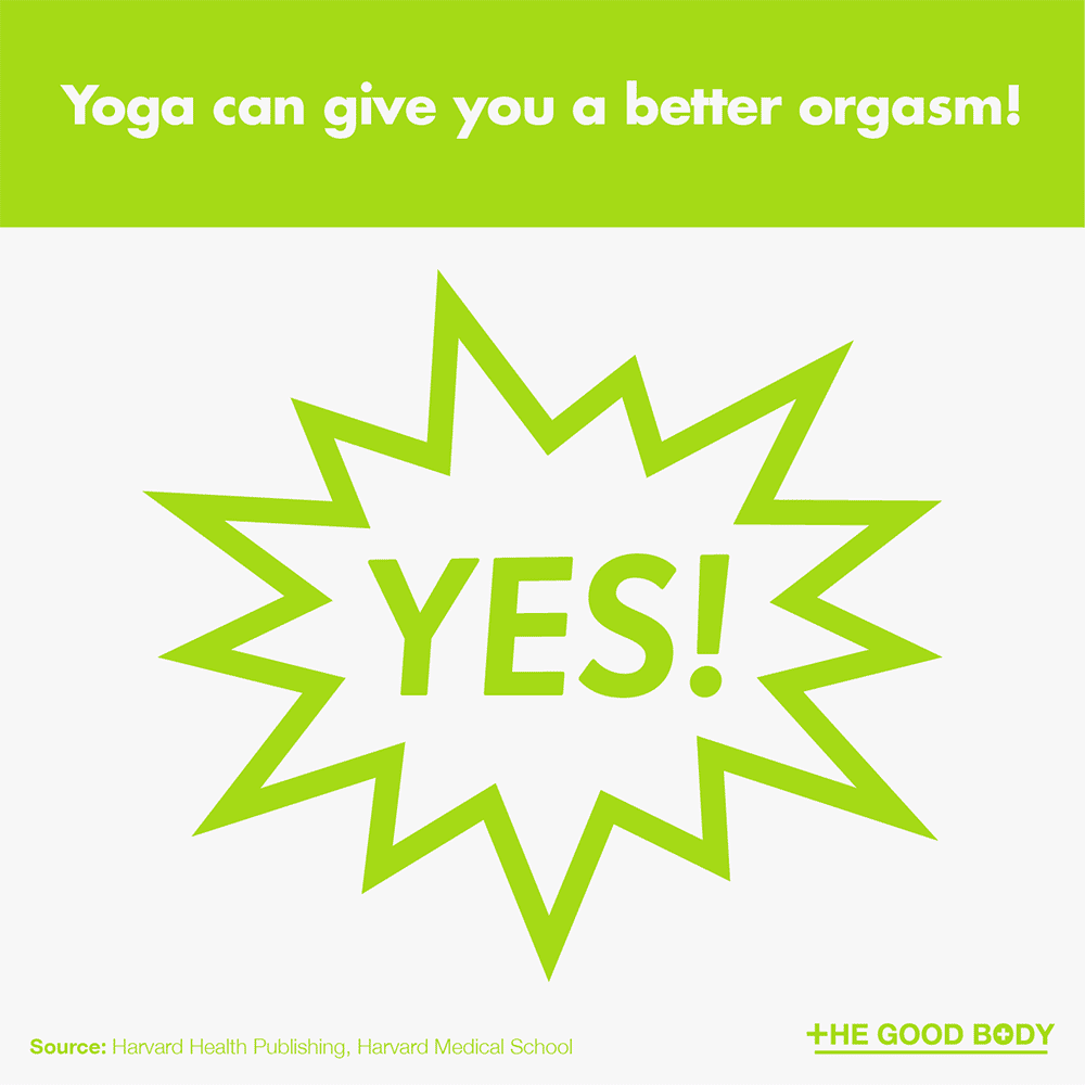 Yoga can give you a better orgasm!