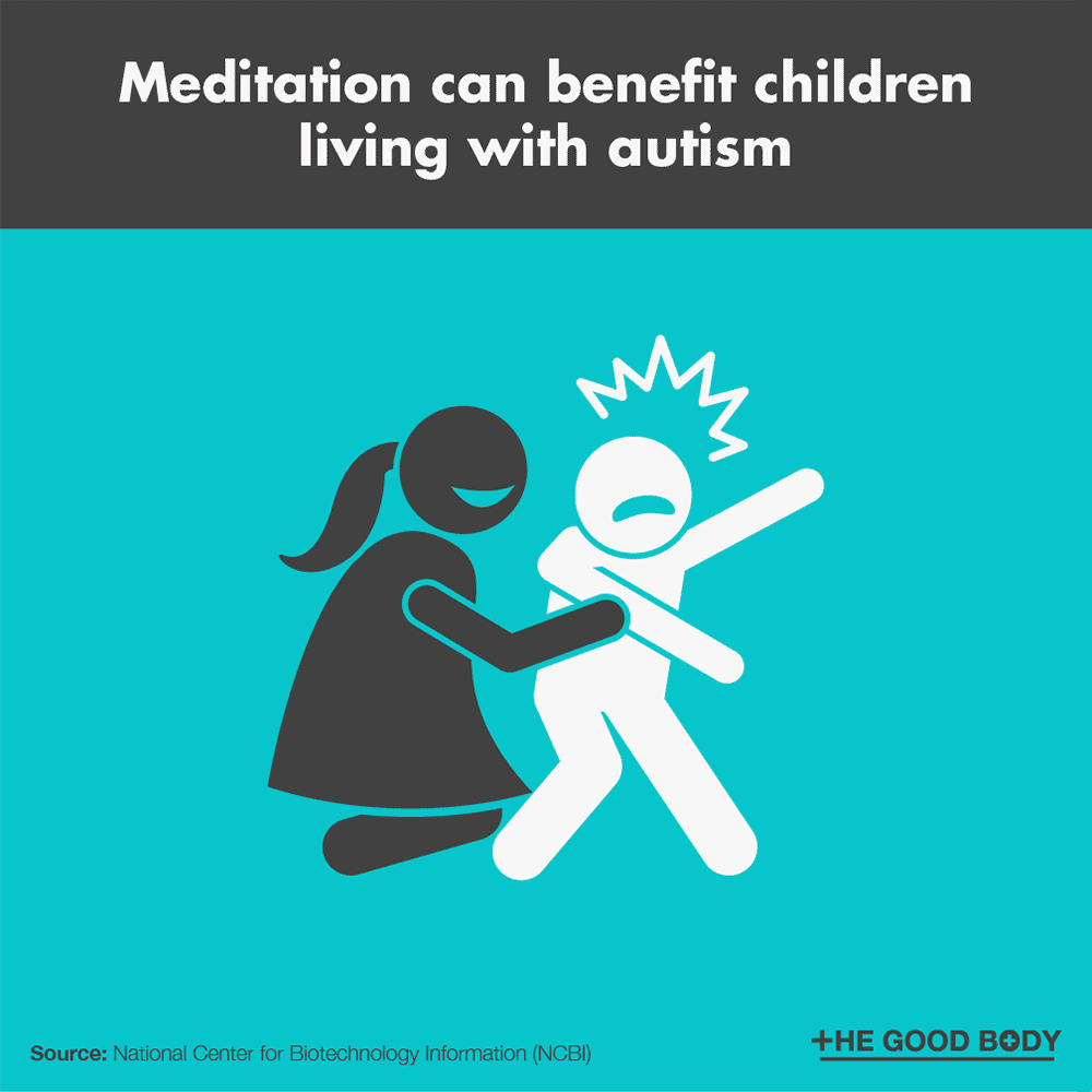 Meditation can benefit children living with autism