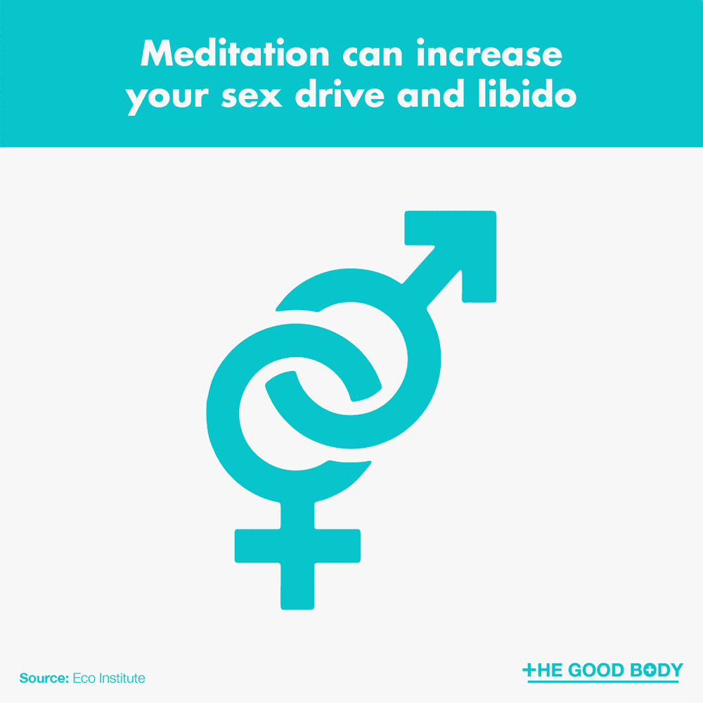Meditation can increase your sex drive and libido
