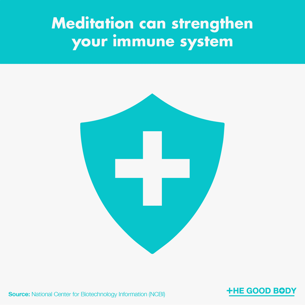 Meditation can strengthen your immune system