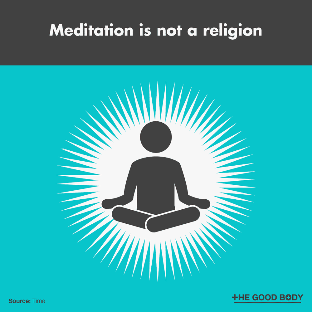Meditation is not a religion