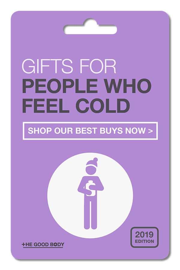 Gifts for People Who Are Always Cold – pin it