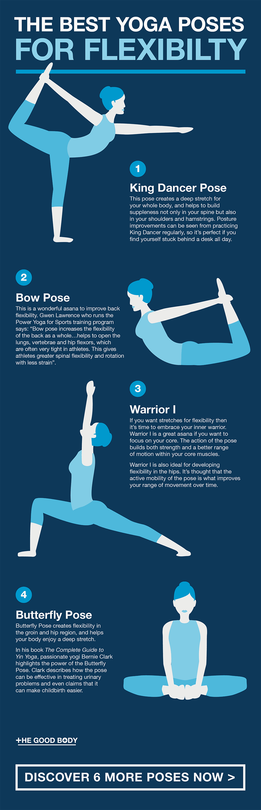 Yoga Poses for Flexibility – Pin It