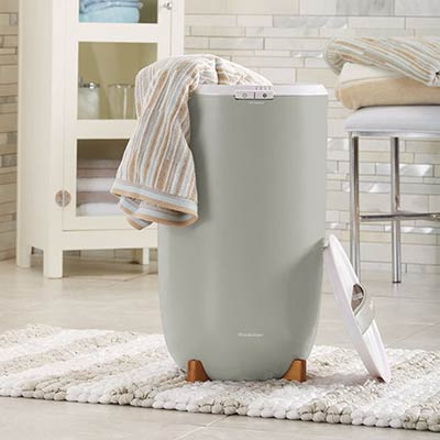 Brookstone Towel Warmer Bucket