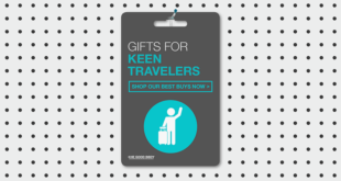 Top 10 Gifts for People Who Travel: Healthy Gift Ideas