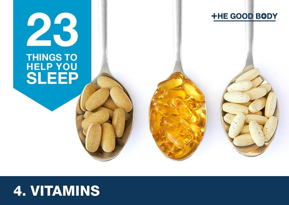 Vitamins to help you sleep