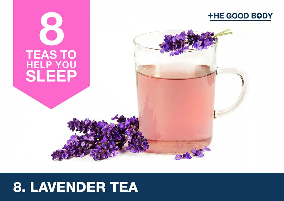 Lavender tea to help you sleep